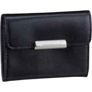 Mandarina Duck Leather Key Case Purse, black for sale